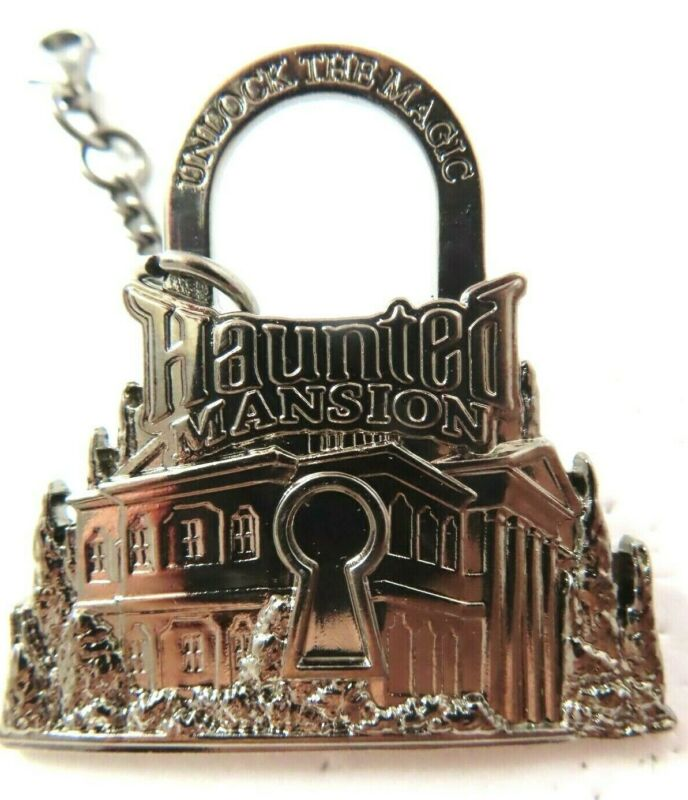 Disney Pin DLR Passholder Unlock the Magic Haunted Mansion Lock #88234