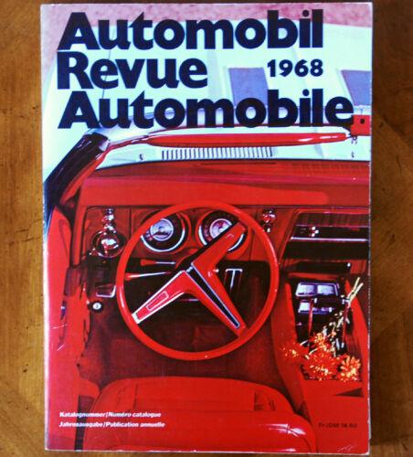 1968 Automobile Revue Catalogue (Hallwag)