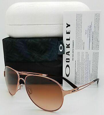 NEW* Oakley CAVEAT Rose Gold 60mm Aviator Women's Sunglass (Oakley Rose Gold Aviators)