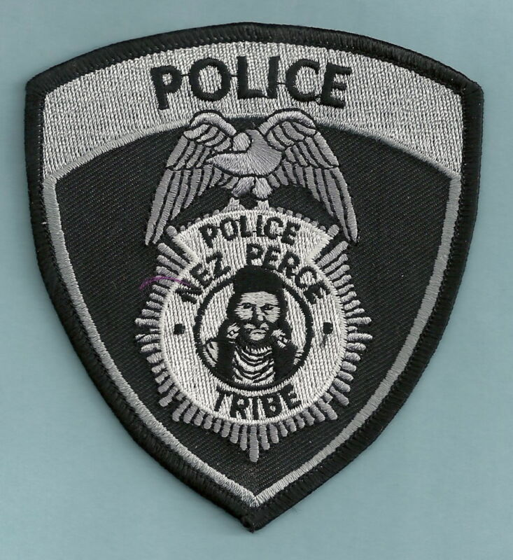 NEZ PERCE IDAHO TRIBAL POLICE SHOULDER PATCH