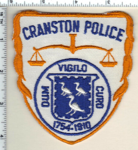 Cranston Police (Rhode Island) Shoulder Patch from 1991