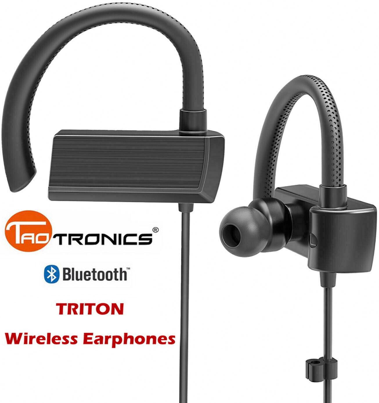 TaoTronics TRITON Wireless Bluetooth Earphones TT-BH059BB SB