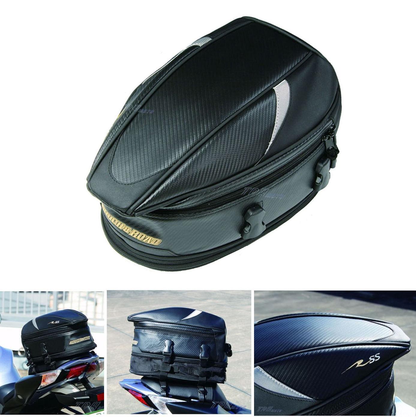 Saddle Tail Bag Motorcycle Road Street Bike Luggage Suzuki Gsxr