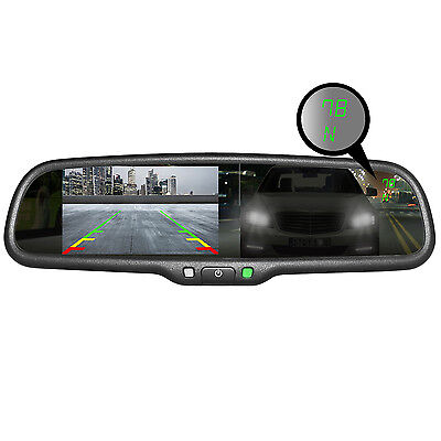 Master Tailgaters OEM Rear View Mirror w/ 4.3