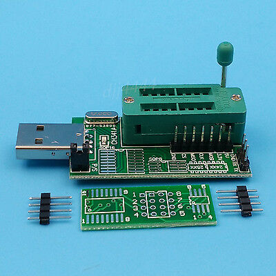 10pcs Ch341a Series 24 Eeprom Bios Writer25 Spi Routing Lcd Flash Usb Programmer