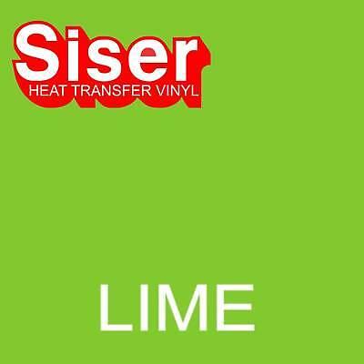 15 X 5 Ft Roll - Lime Green - Siser Easyweed Heat Transfer Vinyl Iron On - Htv