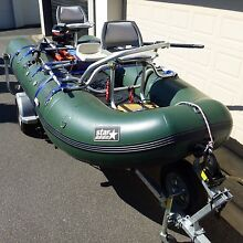 STAR INFLATABLE SPB 4.26 M SPORTS BUG®,IDEAL FLY FISHING CRAFT East Melbourne Melbourne City Preview