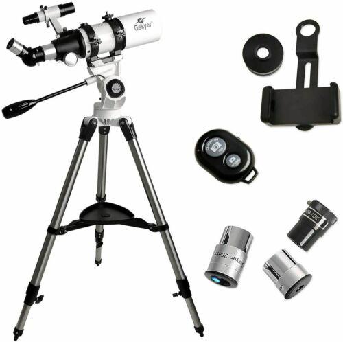 NEW - Gskyer AZ80400 80mm Refraction Aperture 400mm Astronomy Telescope