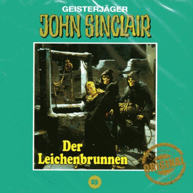 JOHN SINCLAIR - Der Leichenbrunnen - Tonstudio Braun CD Nr. 23 NEU - OVP