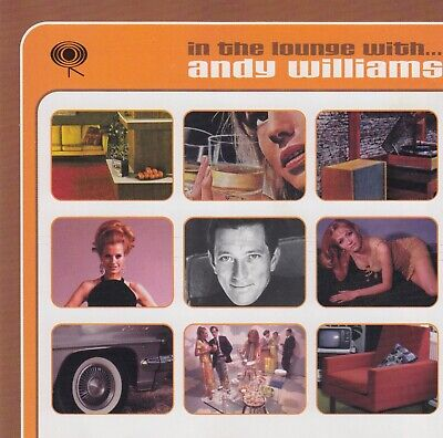 ANDY WILLIAMS In The Lounge With... Andy Williams - Best Of CD Album 1999 W.