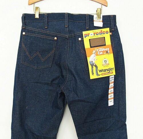 Mens Vintage Wrangler Jeans Pro Rodeo 33x32 Deadstock