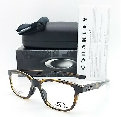 NEW Oakley Cross Step RX Frame Polished Brown Tortoise OX8106-0450 50mm GENUINE