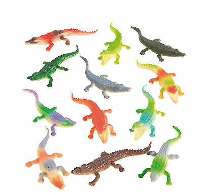 Luau Birthday (12 alligator GATORS REPTILE party favors REPTILE party favors LUAU birthday)