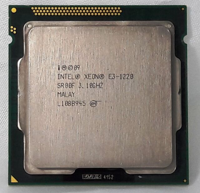 Intel Xeon E3-1220  - 3,1 GHz 4  Prozessor