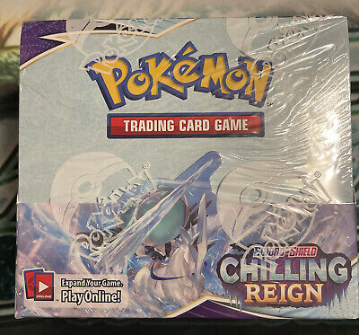 Pokémon TCG Sword & Shield Chilling Reign Booster Box Sealed
