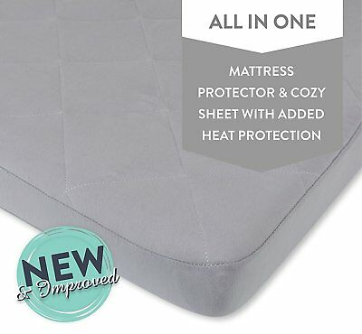 Waterproof Cotton Quilted Pack n Play Mattress Cover | Mini