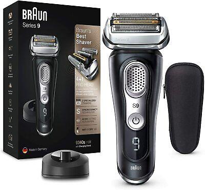 Braun Series 9 9340s Afeitadora Eléctrica Hombre Recargable Base carga seco/moja