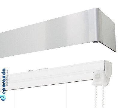 Binario per tenda a pacchetto e barra di copertura alluminio sistema bastone