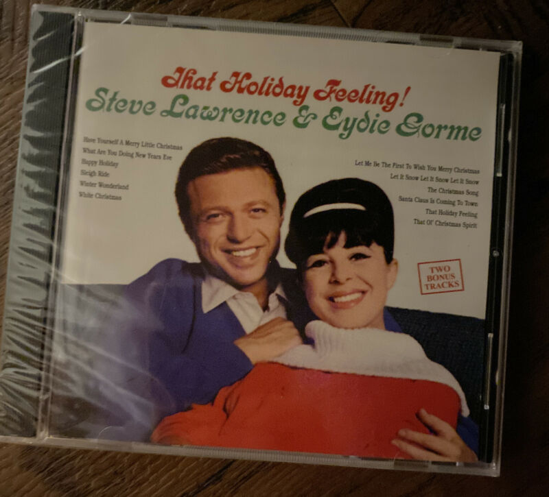 THAT HOLIDAY FEELING! by Steve Lawrence & Eydie Gorme  ~rare CHRISTMAS CD