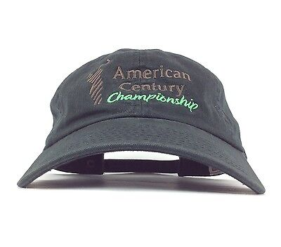 American Century Championship Nbc Sports Embroidered Black Baseball Hat Cap Adj