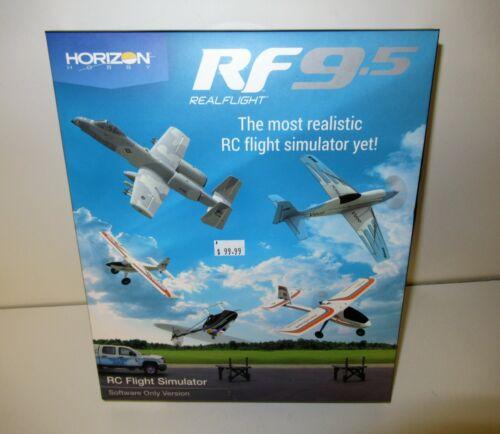 Horizon Real Flight RF9 RC Flight Simulator Software Only #RFL1201 NIB