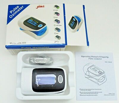 Finger Pulse Oximeter Blood Oxygen Saturation Heart Rate Monitor Fda Lot Of 10