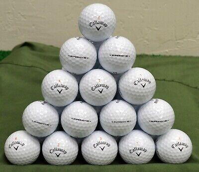 100 Callaway Superhot 55 5A White Golf Balls