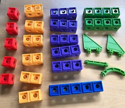 23 Fisher Price Trio Building Blocks - Variety of Pieces Replacements - Clean