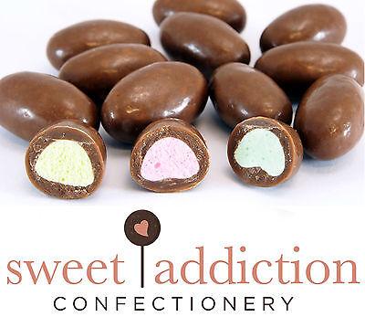500g Clangers Milk Chocolate Pink Yellow Green - Bulk Candy Buffet Like - Chocolate Candy Buffet