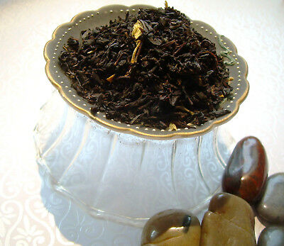 Southern Peach Loose Leaf Aged Asian Black Tea Blend Pure & Naturally Flavored (Peach Loose Leaf Tea)