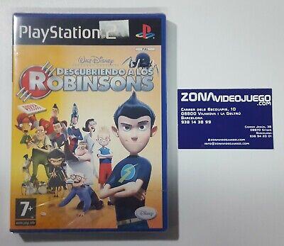 Descubriendo a los Robinsons Disney, Playstation 2, Pal-Esp, Nuevo a estrenar.