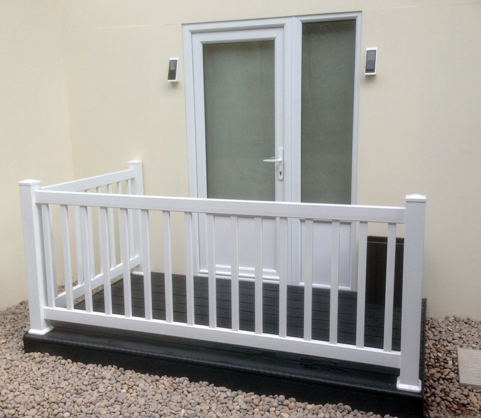 Plastic Balustrade Patio Decking Fencing Panels Or Posts