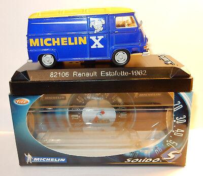 rare SOLIDO RENAULT ESTAFETTE 1962 MICHELIN 1/43 REF 82106 IN BOX