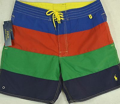 Polo Ralph Lauren Swim Trunks Swimming Board Shorts Size 34 NWT