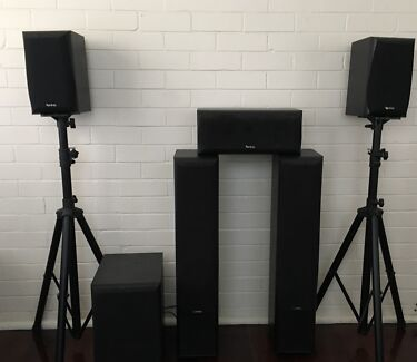 Infinity Primus Speaker System and Yamaha Aventage Receiver