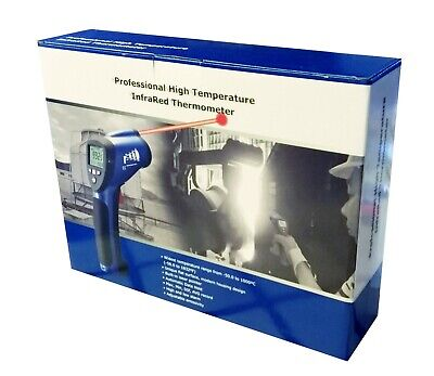 Industrial 501 Ir Laser Thermometer Infrared Gun Dt-8839 Temperature Meter New