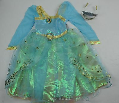 Disney Store Brave Merida Costume Tiara Girls 7 8 NWT