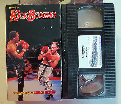 VHS: Best of Kick Boxing: Chuck Norris commentary kickboxing martial arts (Best Kicking Martial Arts)