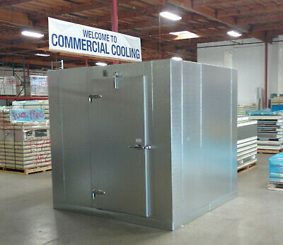 New 8 X 8 X 8 Walk-in Cooler Made W 100 Us Made Materials...only 4640