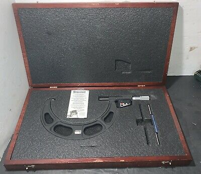 Starrett 6-7 Digital Micrometer No.733 .0001 Lathe Machinist Used
