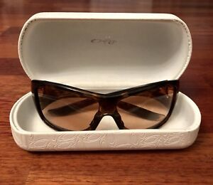 OAKLEY Forsake 009092-03 Sunglasses translucent tortoise brown with case