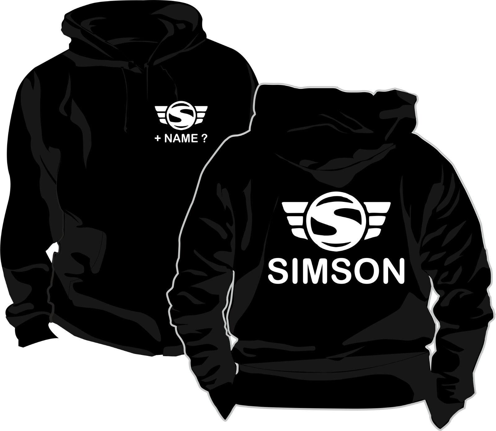 Simson Kapuzenpullover Kapuzen Pullover Logo Wunschname Kulturerbe Kultshirt 33