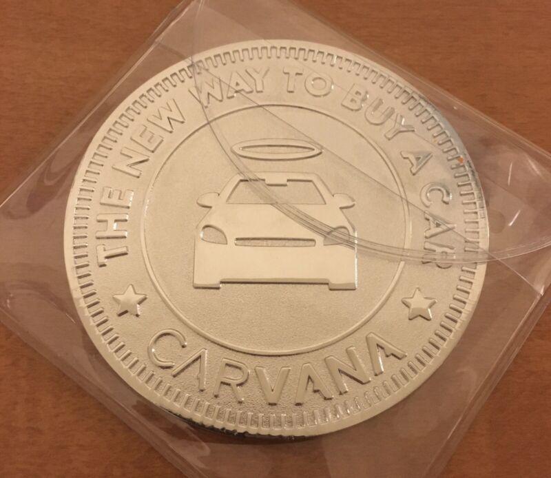 Carvana Car Vending Machine Coin Huge Token Collectible Rare