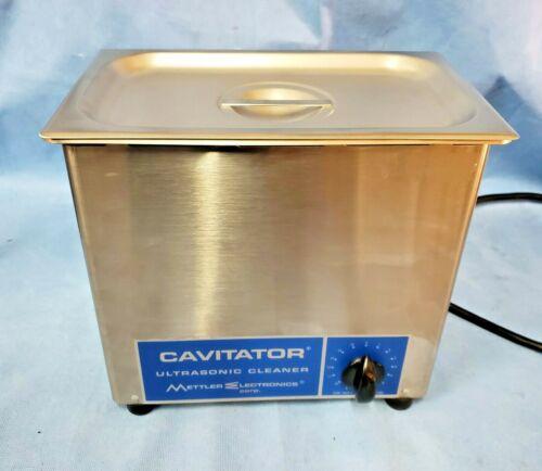 Mettler Cavitator Ultrasonic Cleaner Model 4.6 w/Lid, Excellent Condition!