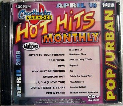 Urban Songs 30139m Musical Instruments & Gear Chartbuster Karaoke Monthly Hits August 2010 Pop