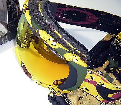 Oakley Canopy Goggles-Tanner Hall Signature/Fire Iridium-Eyeglass Compatible-NEW for sale  La Crosse