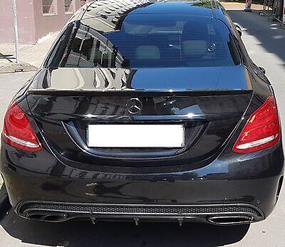 Schwarz fertig lackiert Spoiler AMG typ Hecklippe für Mercedes W213 E Klasse neu