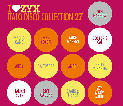 CD ZYX Italo Disco Collection 27 von Various Artists