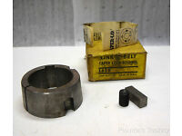 "Without Key New Dodge 1-7//16/"" Bore Taper Lock Bushing #1610"