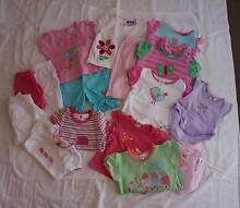 Size 00 Baby Girls Summer Clothing (Pack 3) - $40 Mansfield Brisbane South East Preview